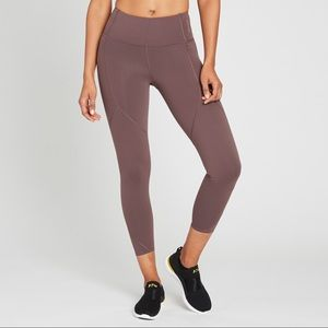 """Lululemon x SoulCycle To The Beat Tight 24"""" Taupe"""